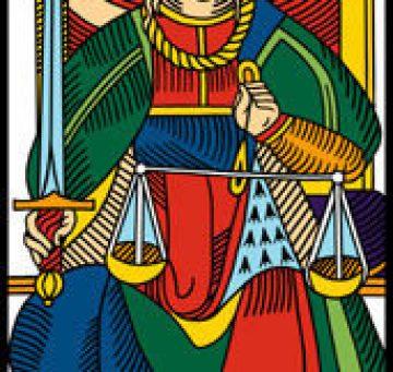 la giustizia nei tarocchi