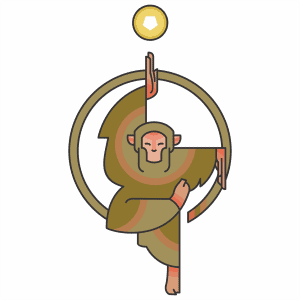 zodiaco cinese scimmia