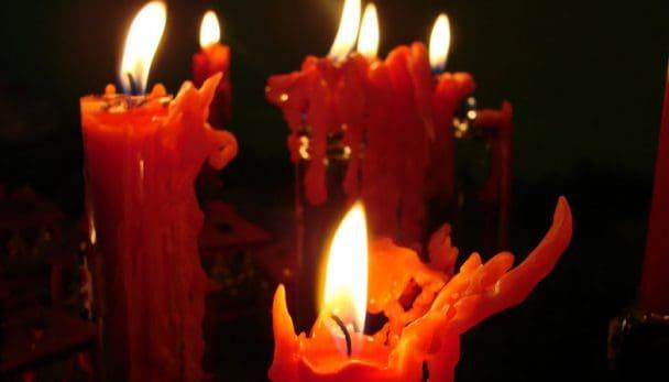 candele rosse