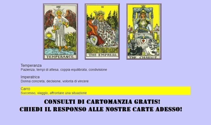 CONSULTA ADESSO I TAROCCHI