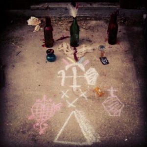 Riti Voodoo Altare