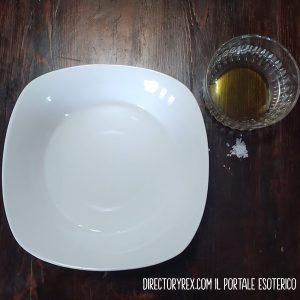 come togliere il malocchio piatto olio